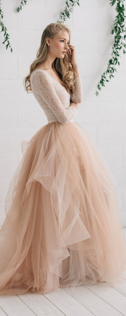 Vestidos de boda informales 2019
