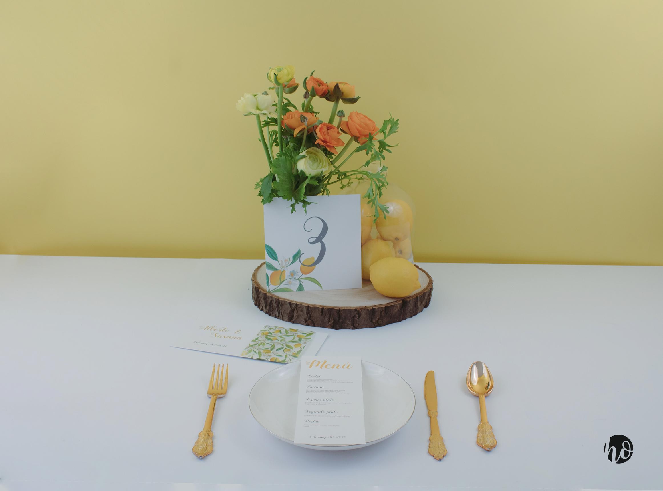 5 ideas de centros de mesas para bodas - Centros de mesa con limones ...