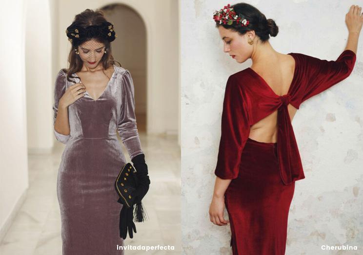 Vestidos para ir a una boda invierno