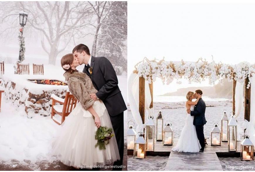 INFOGRAFÍA: ¿En qué época del año nos casamos?