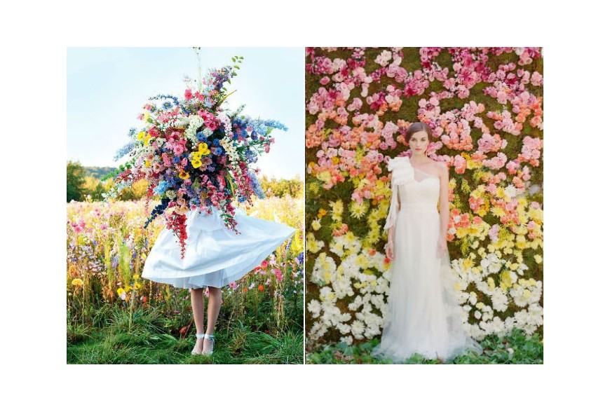 Tendencias de bodas primavera - verano 2018