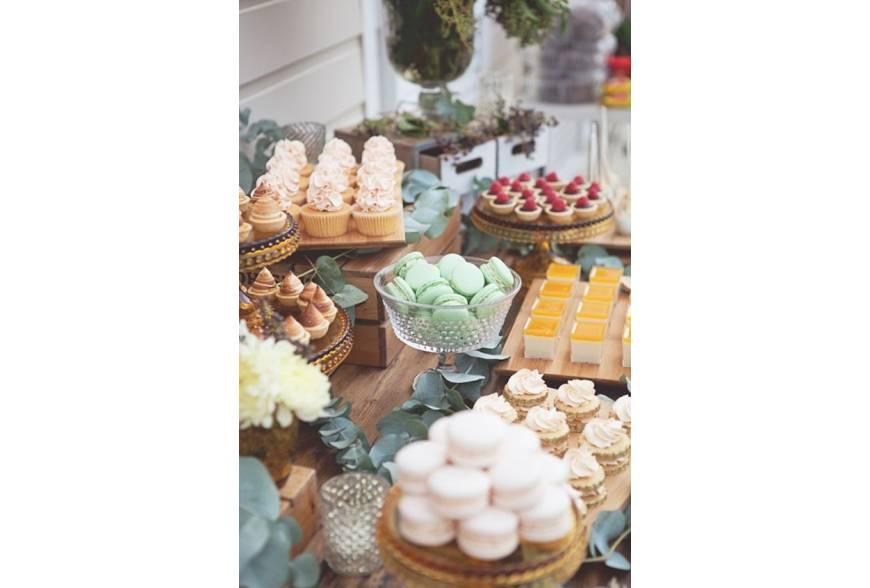 Ideas para preparar un candy bar o mesa dulce en tu boda