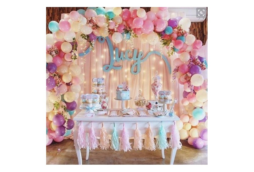 5 ideas de decoraci n con globos para una comuni n s per - Decoracion comunion original ...