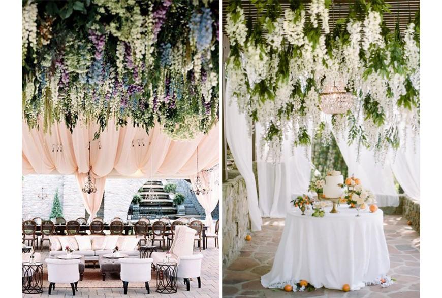 las ideas más originales de decoración floral para tu boda